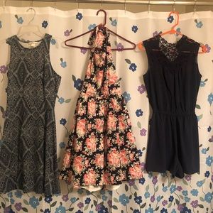 10 dresses size small like new Forever 21 H & M